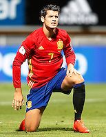 Spain's Alvaro Morata during FIFA World Cup 2018 Qualifying Round match. September 5,2016.(ALTERPHOTOS/Acero)