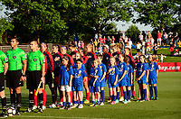 Boyds, MD - Saturday June 03, 2017: Washington Spirit prior to a regular season National Women's Soccer League (NWSL) match between the Washington Spirit and Houston Dash at Maureen Hendricks Field, Maryland SoccerPlex.