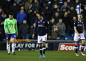 9th February 2018, The Den, London, England; EFL Championship football, Millwall versus Cardiff City; Tim Cahill of Millwall looks on during a stop in play