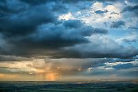 Stormy skies over Pueblo County, Colorado. May 28, 2015