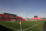 19 November 2010: A wide shot of the stadium. FC Dallas held a practice at Toronto, Ontario, Canada as part of their preparations for MLS Cup 2010, Major League Soccer's championship game.