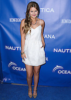 SANTA MONICA, CA, USA - MAY 16: Ashlee Keating at the Nautica And LA Confidential's Oceana Beach House Party held at the Marion Davies Guest House on May 16, 2014 in Santa Monica, California, United States. (Photo by Xavier Collin/Celebrity Monitor)