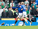 :: RANGERS' NIKICA JELAVIC CELEBRATES AFTER HE SCORES RANGERS' WINNER ::