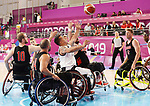 Mens wheelchair basketball competes  against Columbia  at the 2019 ParaPan American Games in Lima, Peru-25aug2019-Photo Scott Grant