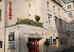 1930s independent Little Theatre cinema, Bath, Somerset, England