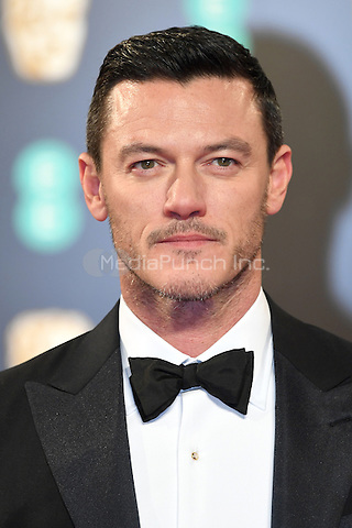 LONDON, ENGLAND - FEBRUARY 12: Luke Evans attends the 70th EE British Academy Film Awards (BAFTA) at Royal Albert Hall on February 12, 2017 in London, England.<br /> CAP/BEL<br /> &copy;BEL/Capital Pictures /MediaPunch ***NORTH AND SOUTH AMERICAS ONLY***