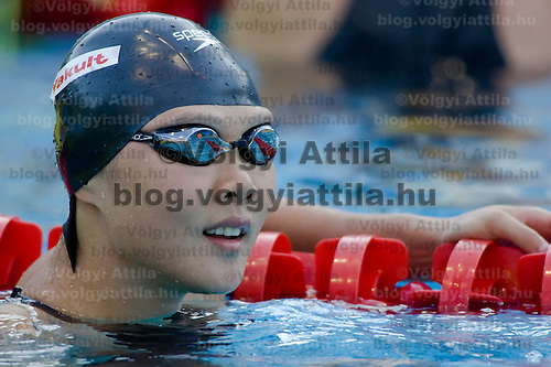 Zhao Jing (CHN) competes during the 50 m Women's Backstroke Swimming competition during the 13th FINA Swimming World Championships held in Rome, Italy. Thursday, 30. July 2009. ATTILA VOLGYI