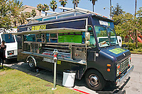 Glowfish, Gourmet Food Truck, Mid Wilshire, Los Angeles CA. Miracle Mile district.