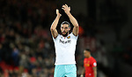 Andy Carroll of West Ham United after the Premier League match at Anfield Stadium, Liverpool. Picture date: December 11th, 2016.Photo credit should read: Lynne Cameron/Sportimage