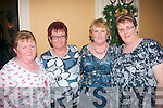 Killarney sisters went to Ballygarry house hotel, Tralee last Friday night to celebrate Women's Christmas l-r: Mary, Bridget, Julie and Kathleen Dineen.