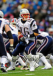 28 December 2008: New England Patriots' quarterback Matt Cassel in action against the Buffalo Bills at Ralph Wilson Stadium in Orchard Park, NY. The Patriots kept their playoff hopes alive defeating the Bills 13-0 in their 16th win against Buffalo of their past 17 meetings. ***** Editorial Use Only ******..Mandatory Photo Credit: Ed Wolfstein Photo