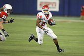 January 5th, 2008:  Rutgers running back Mason Robinson (24) avoids Ball State defender Alex Knipp (38) during the third quarter of the International Bowl at the Rogers Centre in Toronto, Ontario Canada...Rutgers defeated Ball State 52-30.  ..Photo By:  Mike Janes Photography