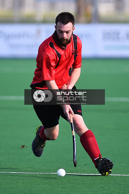 NELSON, NEW ZEALAND - AUGUST 12: Club Hockey - Federal v Waimea on August 12, 2017 in Nelson, New Zealand. (Photo by: Chris Symes/Shuttersport Limited)