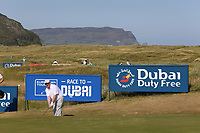 Dennis Taylor  playing with Dylan Frittelli (RSA) during the ProAm of the 2018 Dubai Duty Free Irish Open, Ballyliffin Golf Club, Ballyliffin, Co Donegal, Ireland.<br /> Picture: Golffile | Jenny Matthews<br /> <br /> <br /> All photo usage must carry mandatory copyright credit (&copy; Golffile | Jenny Matthews)