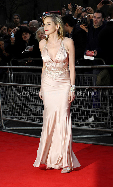 WWW.ACEPIXS.COM . . . . .  ..... . . . . US SALES ONLY . . . . .....March 30 2011, London....Actress Sharon Stone arriving at the Gorby 80 Gala to Celebrate Mikhail Gorbachev's 80th birthday at the Royal Albert Hall on March 30, 2011 in London, England.....Please byline: FAMOUS-ACE PICTURES... . . . .  ....Ace Pictures, Inc:  ..tel: (212) 243 8787 or (646) 769 0430..e-mail: info@acepixs.com..web: http://www.acepixs.com