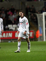 Pictured: Joe Allen of Swansea City in action <br /> Re: Coca Cola Championship, Swansea City FC v Reading at the Liberty Stadium. Swansea, south Wales, Saturday 17 January 2009<br /> Picture by D Legakis Photography / Athena Picture Agency, Swansea 07815441513