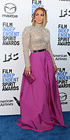 LOS ANGELES - FEB 8:  Jennifer Lopez at the 2020 Film Independent Spirit Awards at the Beach on February 8, 2020 in Santa Monica, CA