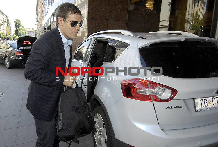 28.05.2009., Zagreb - Gathering of croatian national football team at hotel Sheraton. They are going on preparations because June 6 they are playing qualification match for World Chamionship 2010. with Ukraine. Coach Slaven Bilic. <br /> Photo: Sasa Zinaja/ / nph (  nordphoto  )