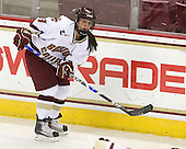 Allison Szlosek (BC - 8) - The visiting St. Lawrence University Saints defeated the Boston College Eagles 4-0 on Friday, January 15, 2010, at Conte Forum in Chestnut Hill, Massachusetts.