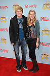 "HOLLYWOOD, CA. - December 05: Jason Dolley and Bridgit Mendler arrive at Variety's 3rd annual ""Power of Youth"" event held at Paramount Studios on December 5, 2009 in Los Angeles, California."
