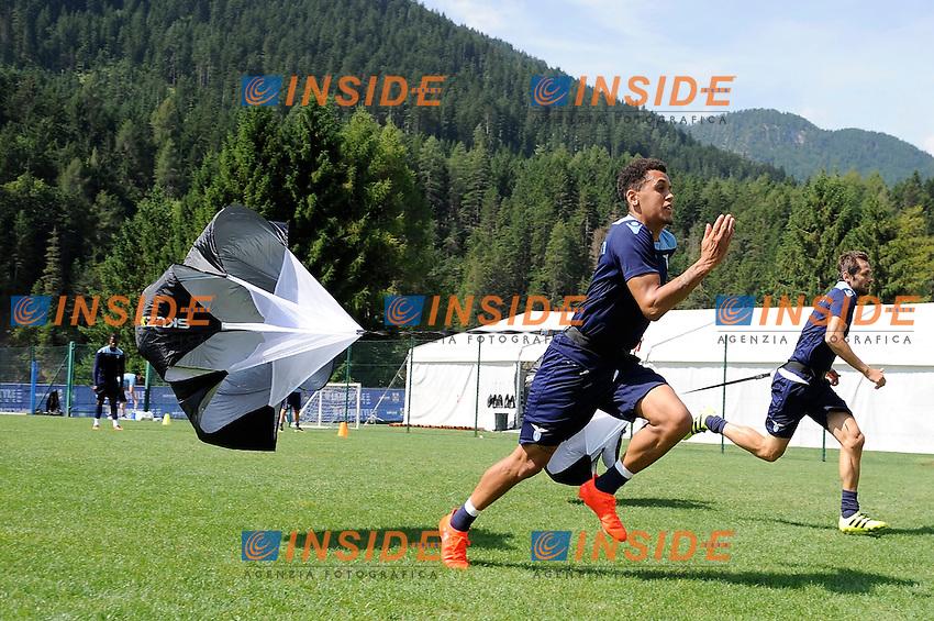 Ravel Morrison<br /> 22-07-2016 Auronzo di Cadore ( Belluno )<br /> Ritiro estivo S.S. Lazio ad Auronzo di Cadore in preparazione per la stagione 2016-2017<br /> SS Lazio pre season training camp <br /> @ Marco Rosi / Fotonotizia / Insidefoto