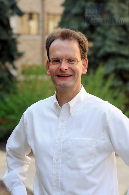 Professor Jan Hagen for the Alumni Travel Catalog..Photo by Matt Cashore/University of Notre Dame
