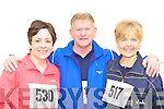 Getting into shape at the Killarney Lions Club 10km mini marathon on Sunday was l-r: Aileen Murphy Beaufort, Denis Costello and Marian Costello Tralee