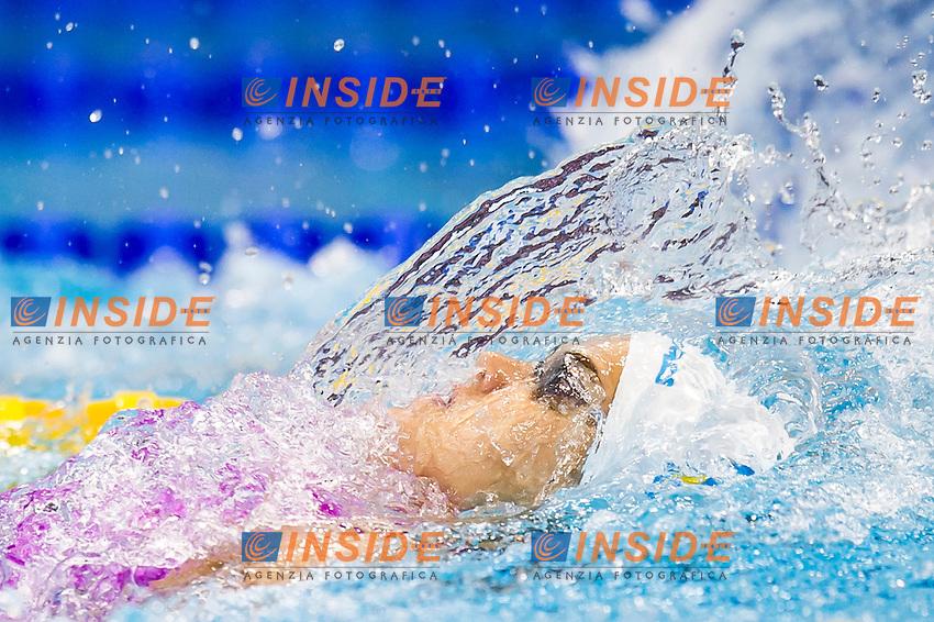 ZEVINA Daryna UKR silver medal<br /> London, Queen Elizabeth II Olympic Park Pool <br /> LEN 2016 European Aquatics Elite Championships <br /> Swimming<br /> Women's 200m backstroke final <br /> Day 09 17-05-2016<br /> Photo Giorgio Perottino/Deepbluemedia/Insidefoto