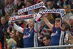 02.12.2017,  Hamburg GER, VBL, SVG Lueneburg vs United Volleys Rhein-Main  im Bild Feature Lueneburger Fans / Foto © nordphoto / Witke