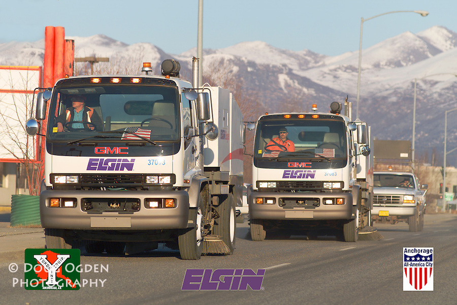 Yukon Equipment Assignment to shoot new Street Sweepers purchased by City of Anchorage