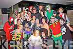 Fright night.------------.Staff of Dunne's Stores,North Circular Road,Tralee had a fab night at their Halloween party in the AbbeyInn,Tralee last Sunday night..