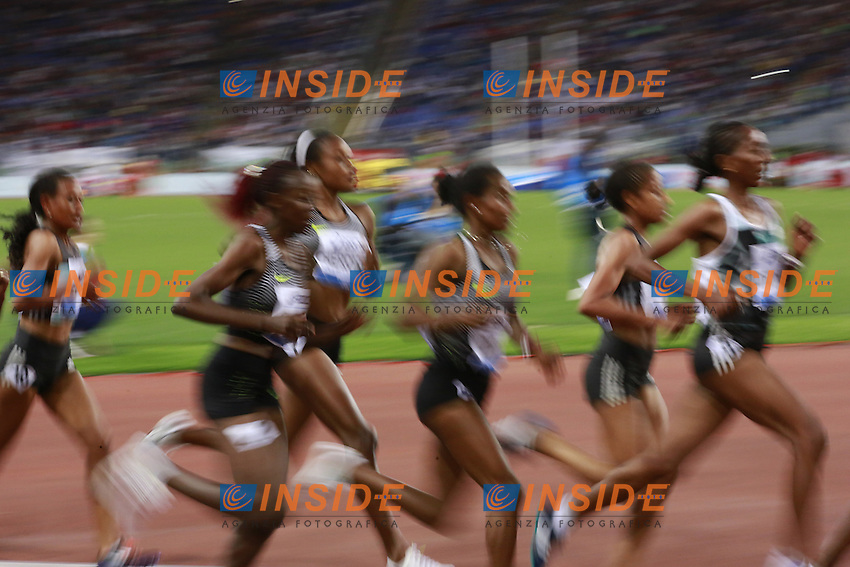 5000m Women  <br /> Roma 02-06-2016 Stadio Olimpico.<br /> IAAF Diamond League 2016<br /> Atletica Legera <br /> Golden Gala Meeting - Track and Field Athletics Meeting<br /> Foto Cesare Purini / Insidefoto