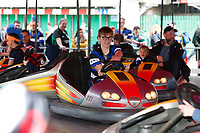 Action from the dodgems. The Clash, Aviva Premiership match, between Bath Rugby and Leicester Tigers on April 7, 2018 at Twickenham Stadium in London, England. Photo by: Matt Impey / Wired Photos for Onside Images