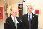 Chamber Council Secretary Eugene Kierans and Donagh O' Brien of Drogheda Rotary Club at the Business Excellence Awards, held in the Highlanes Gallery..Picture: Shane Maguire / www.newsfile.ie.Picture: Shane Maguire / www.newsfile.ie.