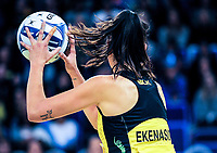 Ameliaranne Ekenasio (Pulse) during the ANZ Premiership netball match between the Central Pulse and Southern Steel at Te Rauparaha Arena in Wellington, New Zealand on Wednesday, 30 May 2018. Photo: Dave Lintott / lintottphoto.co.nz