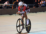 August 20, 2011:  Team Semper Fi and Wounded Warrior cyclist, Justin Widhalm, in action during the Kilo at the Winslow BMW U.S. Grand Prix of Sprinting at the 7-Eleven Velodrome, Colorado Springs, CO... ...