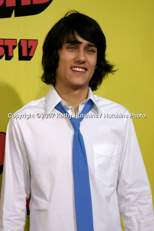 """Teddy Geiger.""""Superbad"""" Movie Premiere.Grauman's Chinese Theater.Los Angeles, CA.Aug 13, 2007.©2007 Kathy Hutchins / Hutchins Photo...."""