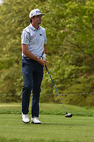 J.T. Poston (USA) watches his tee shot on 10 during round 4 of the 2019 PGA Championship, Bethpage Black Golf Course, New York, New York,  USA. 5/19/2019.<br /> Picture: Golffile | Ken Murray<br /> <br /> <br /> All photo usage must carry mandatory copyright credit (© Golffile | Ken Murray)