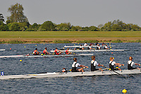 Wallingford Rowing Club Regatta 2011. Dorney..(J15A.4+).Hampton School - A (313).Great Marlow School (315).Hampton School - B (316).King's College School - A (318)