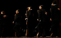 MEDELLIN, COL - JUNE 22: Dancers compete in the Tango Dancing Tournament during the XI International Tango Festival in Medellin, Colombia, on June 22, 2017. The Tango Festival takes place between the 20th and 25th of june 2017. (Photo by Camilo Mejia/VIEWpress/)