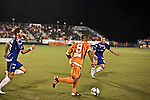 September 12, 2009. Cary, NC..The Carolina Railhawks took over the #2 spot in the league after a 2-1 victory over the Puerto Rico Islanders..#8 Matt Watson.