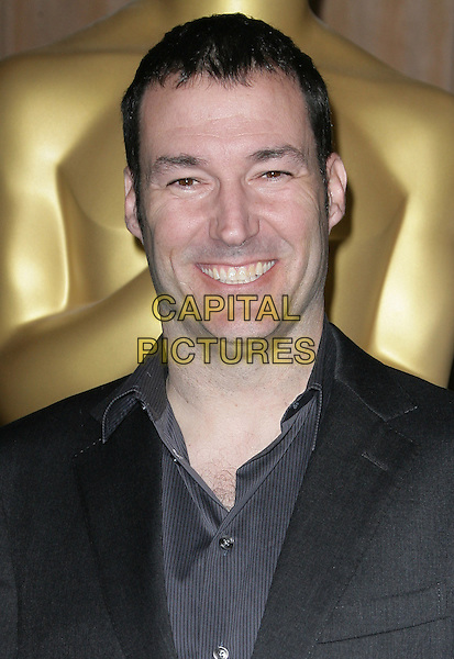 Mark Andrews.85th Academy Awards Nominees Luncheon held at the Beverly Hilton Hotel, Beverly Hills, California, USA..February 4th, 2013.oscars headshot portrait grey gray suit black blue smiling shirt.CAP/ADM.©AdMedia/Capital Pictures.