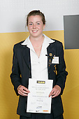 Girls Orienteering winner Greta Knarston. ASB College Sport Young Sportperson of the Year Awards 2007 held at Eden Park on November 15th, 2007.