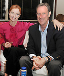 Marcia Cross & husband Tom Mahoney at The 5th annual Pink Party celebration to Benefit Cedars-Sinai Women's Cancer Research Institute at the Samuel Oschin Comprehensive Cancer Institute, event held at La Cachette Bistro in Santa Monica, California on September 12,2009                                                                   Copyright 2009 DVS / RockinExposures