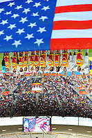 Opening ceremony for team USA during the FIFA Women's World Cup at the FIFA Stadium in Sinsheim, Germany on July 2nd, 2011.