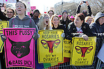 Chicago, IL-January 21, 2017:  Women's March in Chicago after the inauguration of Donald Trump as 45th President of the United States. Led and organized by women, the march turned into a rally, as a crowd of over 250,000 people came to show they disapproval of Trump as President. ©Jean-Marc Giboux