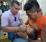 Brazil's Indian agency FUNAI carries out a vaccination campaign in Atalaia do Norte in Brazil's Amazon region.