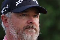 Brian Martin, caddie for Shane Lowry (IRL) during the first round of the DP World Championship, Earth Course, Jumeirah Golf Estates, Dubai, UAE. 21/11/2019<br /> Picture: Golffile | Phil INGLIS<br /> <br /> <br /> All photo usage must carry mandatory copyright credit (© Golffile | Phil INGLIS)