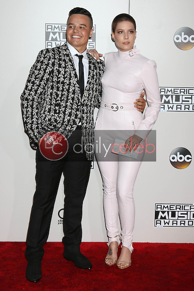 Sevian Frangipane, Halsey<br /> at the 2016 American Music Awards, Microsoft Theater, Los Angeles, CA 11-20-16<br /> David Edwards/DailyCeleb.com 818-249-4998