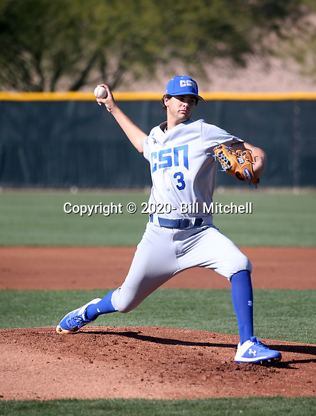 Garrett Clarke - 2020 College of Southern Nevada Coyotes (Bill Mitchell)